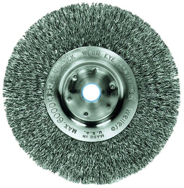 Crimped Wire Wheel Brushes | Shop Vallen