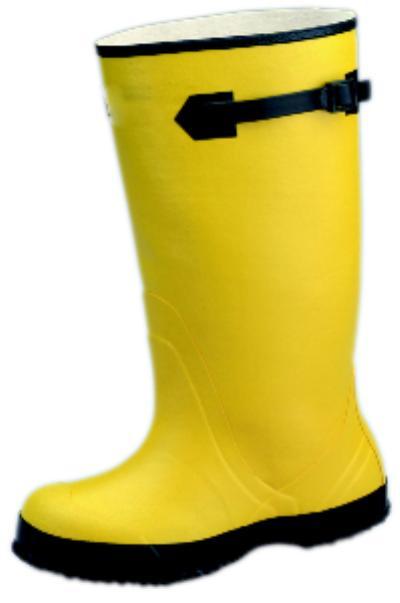 Servus 13 Yellow Strap-On Overshoe