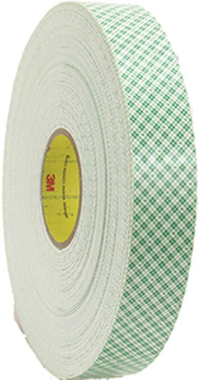 1/2IN x36yds 3M™ Double Coated Urethane Foam Tape 4016