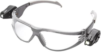 Light Vision Clear 3M™ LED Illuminating Safety Glasses