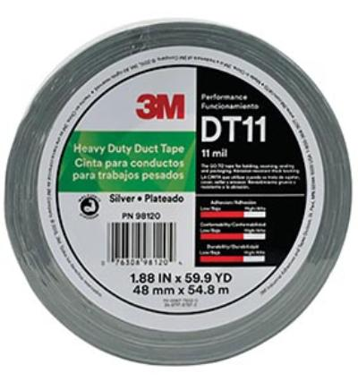 48mmx55m 3M™ Heavy Duty Duct Tape DT11
