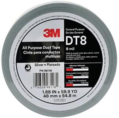 48mmx55m 3M™ All Purpose Duct Tape DT8