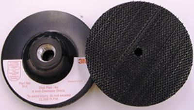 4IN x 1/8IN x 3/8IN  5/8-11 INT 3M™ Disc Pad Holders