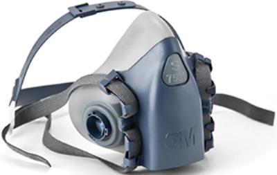 Cool Flow Small 3M™ Half Facepiece Respirators 7500 Series