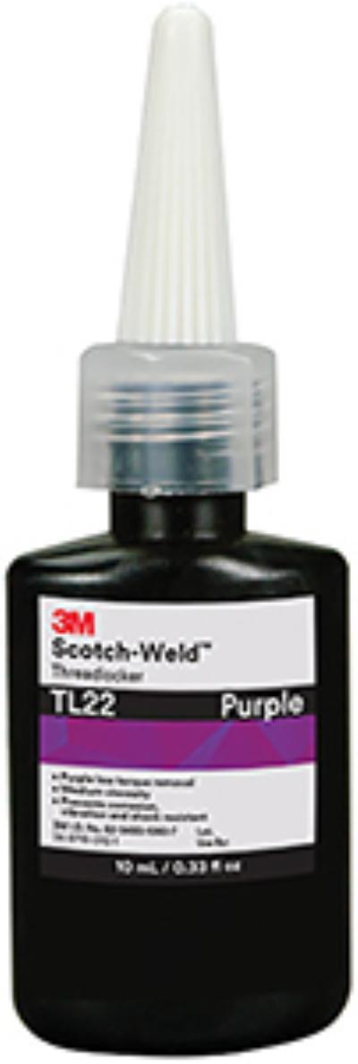 Purple 3M™ Scotch-Weld™ Threadlocker TL22