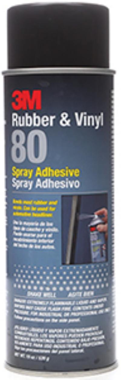 Yellow 3M™ Rubber And Vinyl 80 Spray Adhesive
