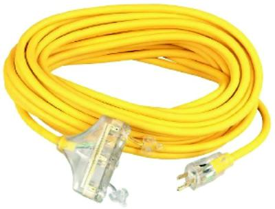 100' Multi-Outlet Extension Cords