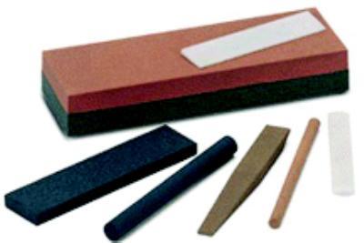 4IN  x 1IN  x  1/4IN  Abrasive Benchstones