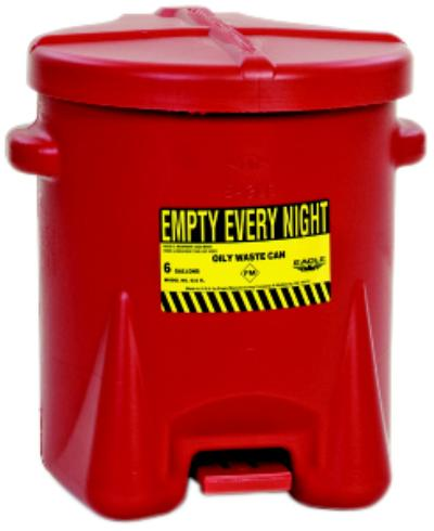 14gl Polyethylene Oily Waste Cans