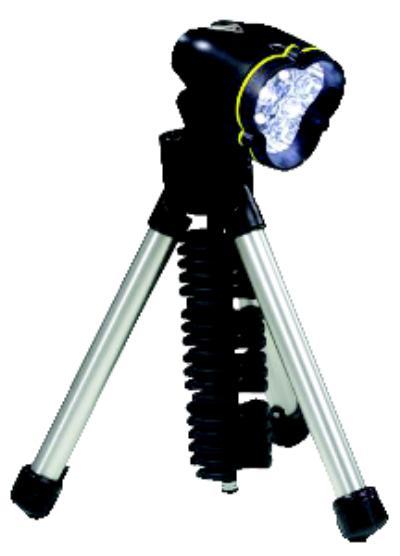 3 AA LED Tripod Flashlight