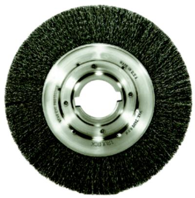 10IN x2IN  with keyway Crimped Wire Wheel Brushes