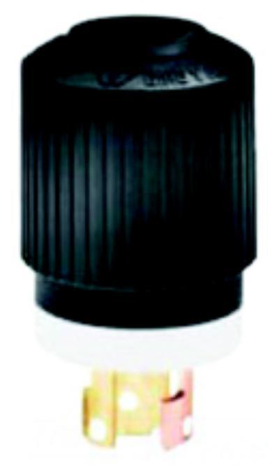 Yellow/white nylon, corrosion resistant, Female Plug Locking Plugs