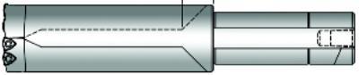 Revolution - Series 58 16 1/4IN  Straight Shank Revolution Drill Bodies