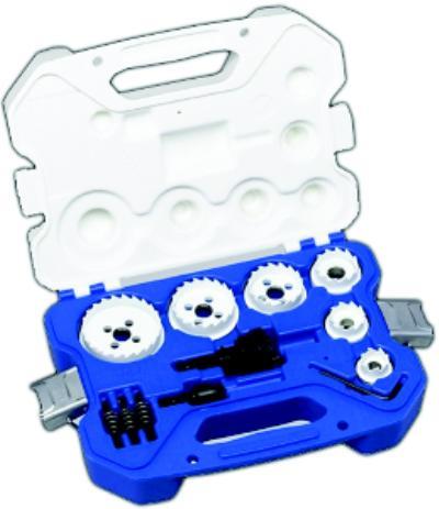 15 Piece Carbide Hole Cutter Kit