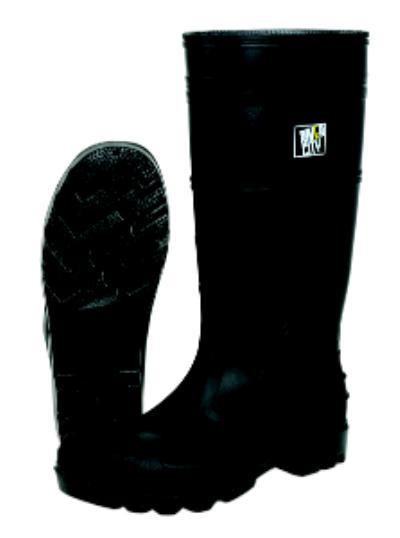 8 PVC Steel Toe Rubber Boots