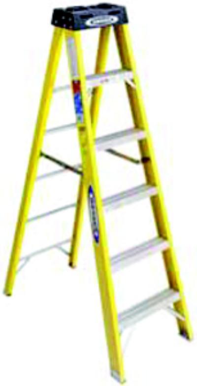 6100 Series 12' Fiberglass Step Ladders