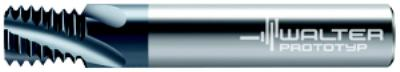 Series 27 M10x1.5 Internal Solid Carbide Thread Mills