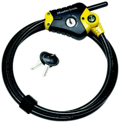 Python 72IN  (6 ft) Adjustable Locking Cables