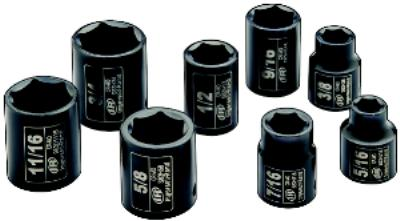 3/8IN  Impact Socket Sets