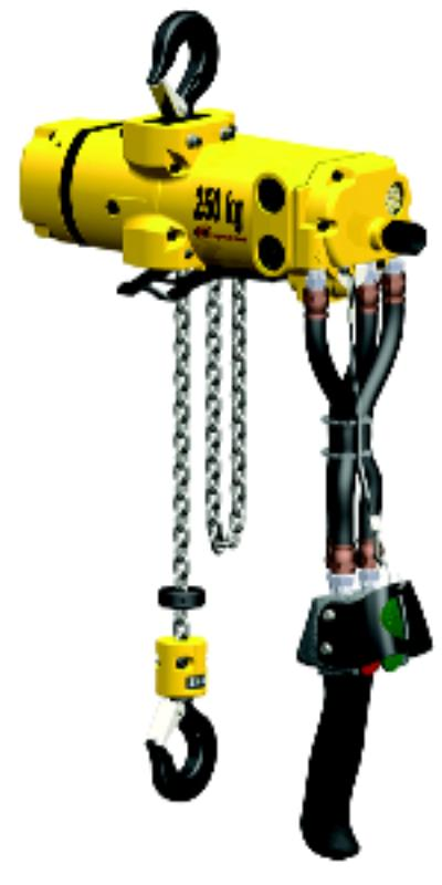 CLK Series 1100lbs Air Hoists
