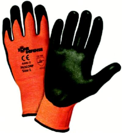 Zone Defense Large/9 Cut Resistant Gloves