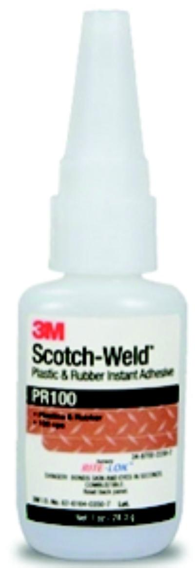 1lbs 3M™ Scotch-Weld™ Plastic & Rubber Instant Adhesive PR100