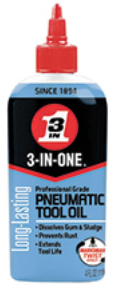 4oz 3-IN-ONE Pneumatic Tool Oil