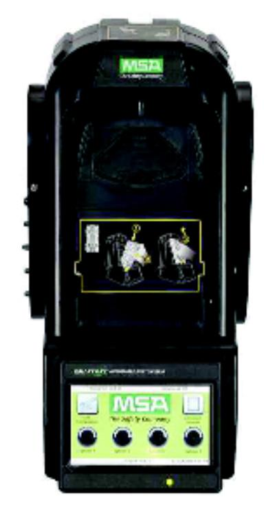 Use with Altair 4/4X Multigas Detector, no charging GALAXY® GX2 Automated Gas Detector Test System