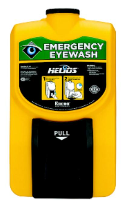 Helios® English Self-Contained Portable Eyewash