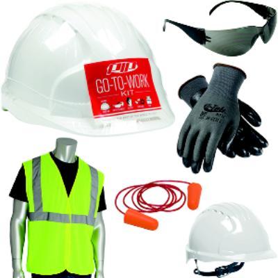 XLarge/XXLarge Go-To-Work Kit with Cap Style Hard Hat