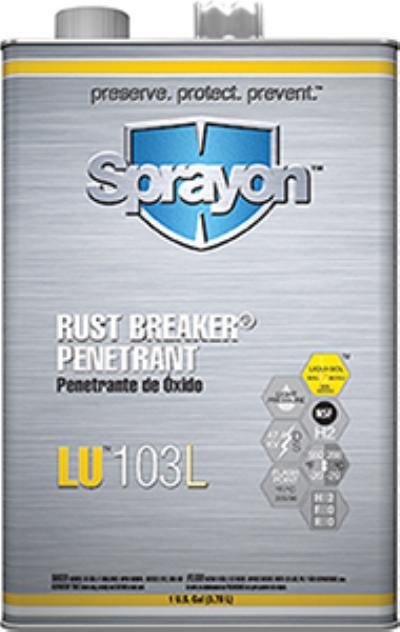 Rust Breaker® 1gal LU 103L Rust Breaker Rust Penetrant