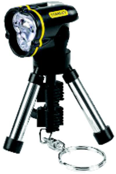3 LR41 MiniTripod LED Flashlights