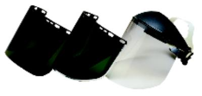 8IN x15.5IN  Polycarbonate Faceshields