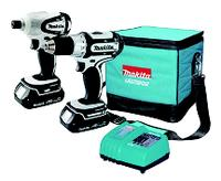 18V Cordless Lithium-Ion Compact 2 Tool Combo Kit