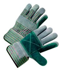 Leather Double Palm Gloves