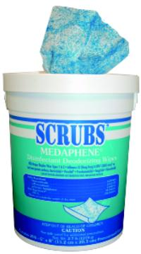 Scrubs Medaphene 65 Wipe Container Disinfectant Deodorizing Wipes
