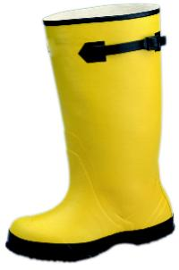 Servus 15 Yellow Strap-On Overshoe