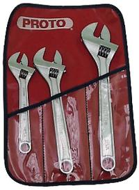 No.795 Professional 3 Piece Adjustable Wrench Set