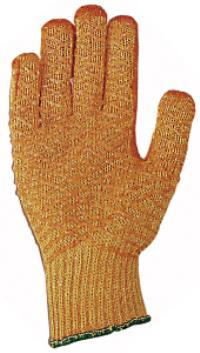 Large/9 Coated String Knit Gloves