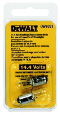 14.4V 14.4 Volt Cordless Flashlight Bulb