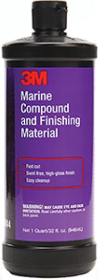 3M™ 1qt Marine Compound and Finishing Material