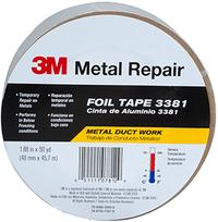 188IN x50yds 3M™ Aluminum Foil Tape 3381