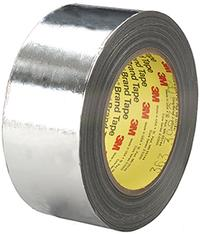 2IN x36yds 3M™ High Temperature Aluminum Foil / Glass Cloth Tape 363
