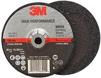 4IN x 1/4IN x 3/8IN  3M™ High Performance Depressed Center Grinding Wheel