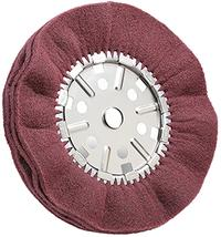 Scotch-Brite 12IN x2IN x 3/4IN  Satin Pleated Buff Wheel