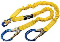 ShockWave2 Aluminum Rebar and Snap Hooks Shock Absorbing Lanyard