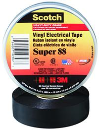 3/4IN x66' 3M™ Scotch® Super Electrical Tape 88