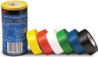 1IN x22yds 3M™ General Purpose Vinyl Tape Multi-Pack 764