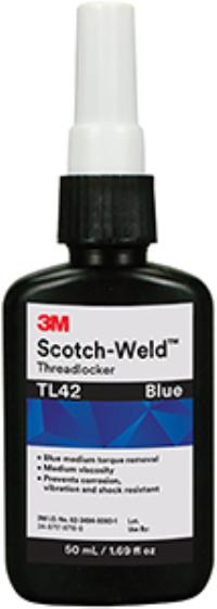 Blue 3M™ Scotch-Weld™ Threadlocker TL42