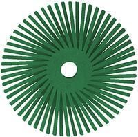Scotch-Brite 3IN x 3/8IN  3M™ Radial Bristle Discs